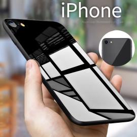 Vaku ® Apple iPhone 7 Flexi Series Ultra-Shine Luxurious Tempered Finish Thin Back Cover