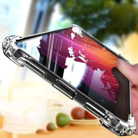 Vaku ® Xiaomi Redmi Note 4 PureView Series Anti-Drop 4-Corner 360° Protection Full Transparent TPU Back Cover Transparent