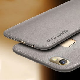 Vaku ® Vivo V7 Luxico Series Hand-Stitched Cotton Textile Ultra Soft-Feel Shock-proof Water-proof Back Cover