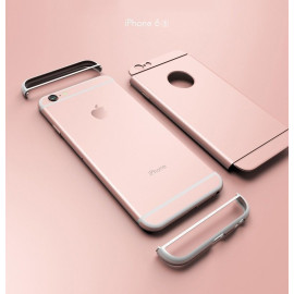 i-Paky ® Apple iPhone 6 Plus / 6S Plus Ling Series Ultra-thin Electroplating Splicing PC Back Cover