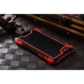 R-JUST ® Apple iPhone 6 / 6S Amira Carbon Fiber + Shockproof + Dustproof + Water Resistant Back Cover