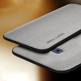 Vaku ® Samsung Galaxy C9 Pro Luxico Series Hand-Stitched Cotton Textile Ultra Soft-Feel Shock-proof Water-proof Back Cover
