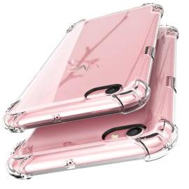 Vaku ® Vivo Y55L / Y55S PureView Series Anti-Drop 4-Corner 360° Protection Full Transparent TPU Back Cover Transparent