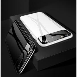 Vaku ® Apple iPhone 5 / 5S / SE Polarized Glass Glossy Edition PC 4 Frames + Ultra-Thin Case Back Cover