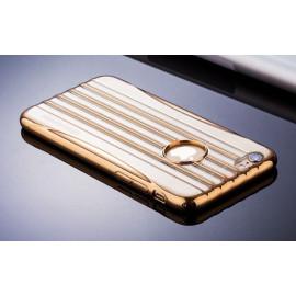 Joyroom ® Apple iPhone 6 / 6S Sim Waist Ultra-thin Metal Electroplating Transparent TPU Back Cover