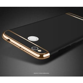 Vaku ® Xiaomi Redmi 4 Ling Series Ultra-thin Metal Electroplating Splicing PC Back Cover
