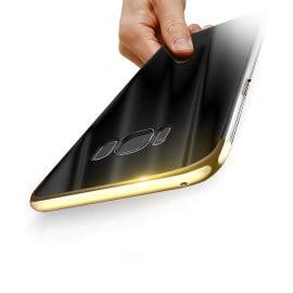 Vaku ® Samsung Galaxy J7 Prime / J7 Prime 2 Clint Series Ultra-thin Metal Electroplating Splicing PC Back Cover