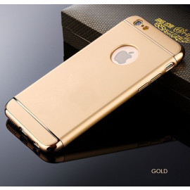 Vaku ® Apple iPhone 6 Plus / 6S Plus Ling Series Ultra-thin Metal Electroplating Splicing PC Back Cover