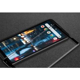 Dr. Vaku ® Google Pixel 3 XL 5D Curved Edge Ultra-Strong Ultra-Clear Full Screen Tempered Glass-Black