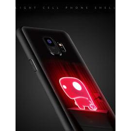 VAKU ® Samsung Galaxy S9 NFC Wireless LED Light Illuminated 3D Designer Case Back Cover