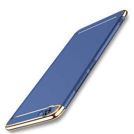 Vaku ® Vivo Y69 Ling Series Ultra-thin Metal Electroplating Splicing PC Back Cover