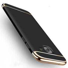 Vaku ® Samsung Galaxy J7 Prime / J7 Prime 2 Ling Series Ultra-thin Metal Electroplating Splicing PC Back Cover