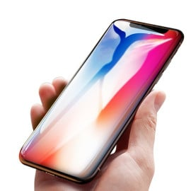 Dr. Vaku ® Apple iPhone X 5D Curved Edge Ultra-Strong Ultra-Clear Full Screen Tempered Glass