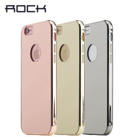 Rock ® Apple iPhone 6 Plus / 6S Plus Infinite Mirror 24K Plated Aluminium Alloy Bumper Case Back Cover