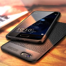 Vaku ® Xiaomi Redmi Y1 Lite Kowloon Leather Stitched Edition Top Quality Soft Silicone 4 Frames + Ultra-Thin Back Cover