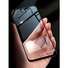 Dr. Vaku ® Lenovo K8 Plus 5D Curved Edge Ultra-Strong Ultra-Clear Full Screen Tempered Glass Black
