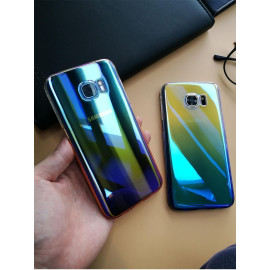Kanjian ® Samsung Galaxy S7 Edge Infinity Series with UV Colour Shine Transparent Full Display PC Back Cover