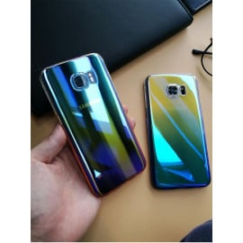 Kanjian ® Samsung Galaxy Note 5 Infinity Series with UV Colour Shine Transparent Full Display PC Back Cover