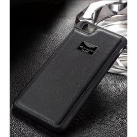 Aston Martin Racing ® Apple iPhone 8 Plus Official Hand-Stitched Leather Case Limited Edition Back Cover