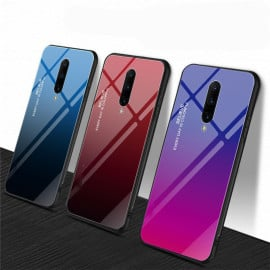 VAKU ® Oneplus 7 Pro Dual Colored Gradient Effect Shiny Mirror Back Cover