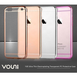 Vouni ® Apple iPhone 6 / 6S YUE Ultra-thin Electroplating Transparent PC Back Cover