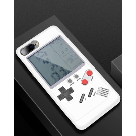 Vaku ® Apple iPhone 8 Plus Retro Video Gaming Console 26 in 1 Games Like Tetris, Shooting, Racing, Tank, Memory etc. + Drop-Protection Back Cover