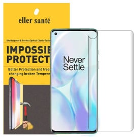 Eller Sante ® Oneplus 8 Pro Impossible Hammer Flexible Tempered Film Screen Protector (Front+Back)