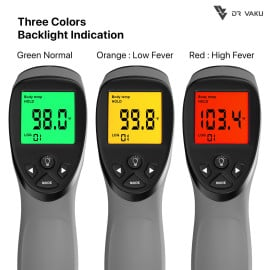 Dr. Vaku ® Swadesi Non Contact Infrared Thermometer – Made in India