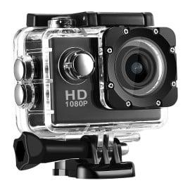 SportsHD ® 12 Mega Pixels and CMOS Sensor with 30 M water resistance Sport HD DV Camera