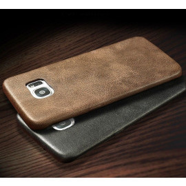 Usams ® Samsung Galaxy S7 Ultra-thin Elegant Grained Leather Case Back Cover