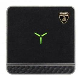 Lamborghini ® Huracan D10 Genuine Leather Carbon Fiber Wireless Charging Pad
