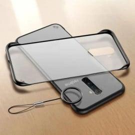 VAKU ® Oppo Realme X2 Pro Frameless Semi Transparent Cover (Ring not Included)