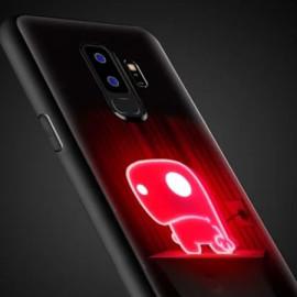 VAKU ® Samsung Galaxy S9 Plus NFC Wireless LED Light Illuminated 3D Designer Case Back Cover