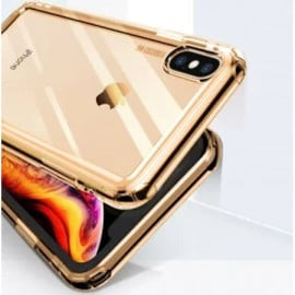 Baseus ® Apple iPhone XS MAX Air Bag Case Anti-Drop 4-Corner 360° Protection Full Transparent TPU Back Cover