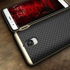 i-KUKE ® OnePlus 3 / 3T KINGPRO Series Ultra-thin Hybrid Silicon Grip Shockproof Protective Shell Back Cover