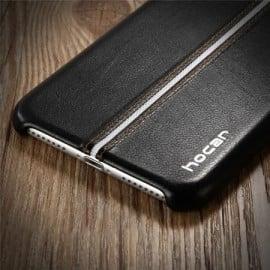VAKU ® Apple iPhone 7 LEXZA 3rd Series Stitch Leather Shell Back Cover