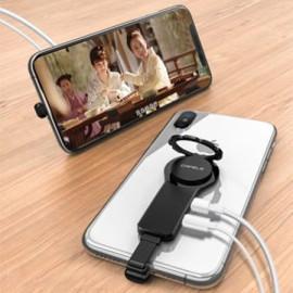 Vaku ® 6 in 1 Multi Utility Adapter With Lightning Charging Port + 3.5mm Audio Plug
