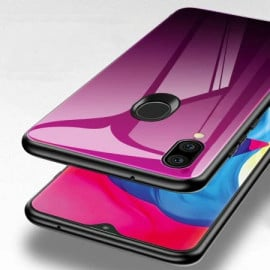 VAKU ® Samsung Galaxy M20 Dual Colored gradient effect at the back with shiny mirror effect back cover