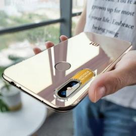 Vaku ® Xiaomi Redmi Note 6 Pro Metal Camera Ultra-Clear Transparent View with Anodized Aluminium Finish Back Cover