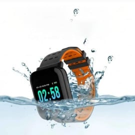 VAKU ® A6 Smart Watch with Remote Camera + SpO2 Monitor + Pedometer for Men & Women Sport SmartWatch for Android & iPhone