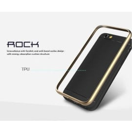Rock ® Apple iPhone 6 / 6S Kani Protective Shell Aluminium Bumper combined + TPU Back Cover
