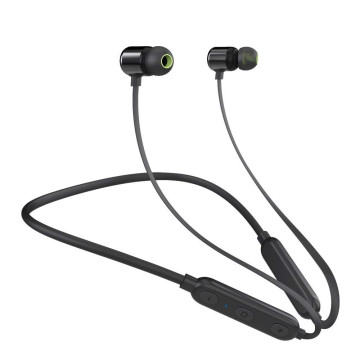Vaku ® Stereo Smart Magnetic W8 Wireless Bluetooth 4.2 Earphones + In Line Mic with Dual Driver Technology