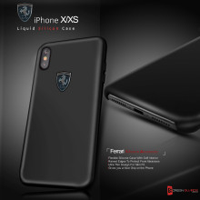 Ferrari ® Apple iPhone X  / XS Liquid Silicon Luxurious Case Limited Edition Back Cover