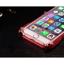 R-JUST ® Apple iPhone 6 Plus / 6S Plus Iron Man Nyatoh Wood Bumper Aluminium Metal Bumper