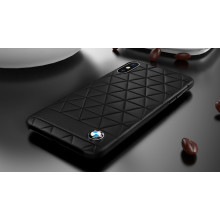 BMW ® Apple iPhone XS Official Superstar zDRIVE Leather Case Limited Edition Back Cover