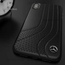 Mercedes Benz ® iPhone X Dotted Wave Series Luxury Edition Back Cover