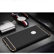 Vaku ® Huawei Honor 8 Ling Series Ultra-thin Metal Electroplating Splicing PC Back Cover