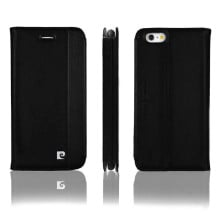 Pierre Cardin ® Apple iPhone 6 / 6S Paris Design Premium Italian Leather Magnetic Flip Cover