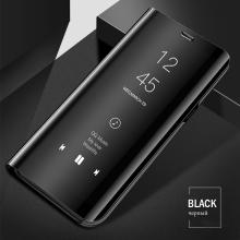 Vaku ® Vivo V15 Pro Mate Smart Awakening Mirror Folio Metal Electroplated PC Flip Cover