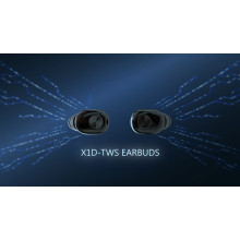 VAKU ® Mini Wireless X1D Wireless HD-STEREO Earbuds with Bluetooth 5.0 + EDR + Noise Cancellation